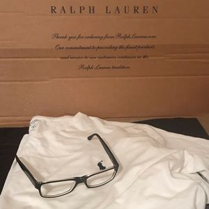 Polo Ralph Lauren Men Black Crystal Frames PH2015